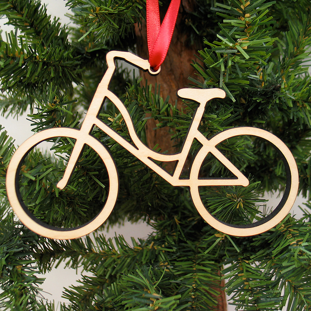 coming home for the holidays 350 its all about studio cycling - Bicycle Christmas Ornament